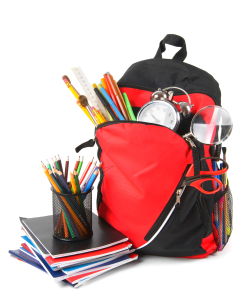 Avoid a messy backpack